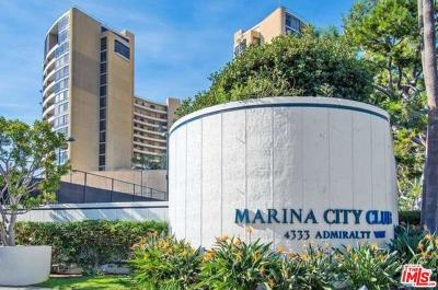 Marina Del Rey Condo/Townhouse Sold: 4316 Marina City Drive #421