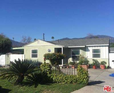 Monrovia Single Family Home For Sale: 427 East Altern Street