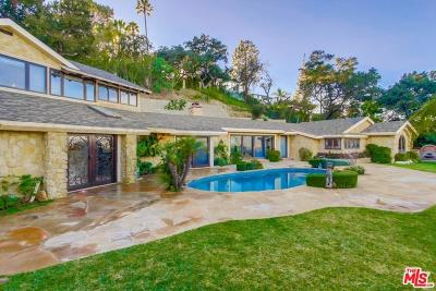 Single Family Home For Sale: Mulholland Drive