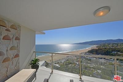 Los Angeles County Rental For Rent: 201 Ocean Avenue #P1809