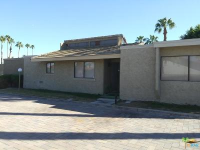 Palm Springs Condo/Townhouse For Sale: 1602 South Cerritos Drive #F
