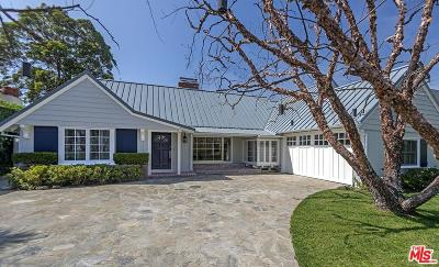 Pacific Palisades Single Family Home For Sale: 765 Ocampo Drive