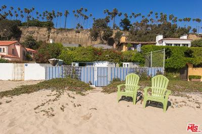 Los Angeles County Rental For Rent: 702 Palisades Beach Road