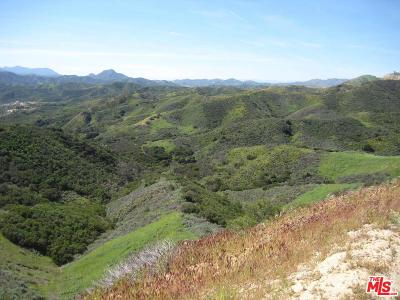 Calabasas Residential Lots & Land For Sale: Dry Canyon Cold Creek