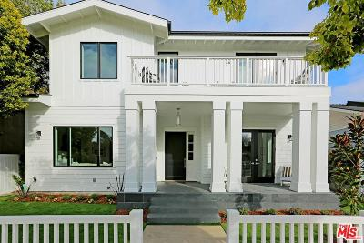 Santa Monica Single Family Home Sold: 3325 17th Street