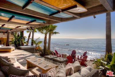 Malibu Single Family Home For Sale: 20906 Pacific Coast Highway