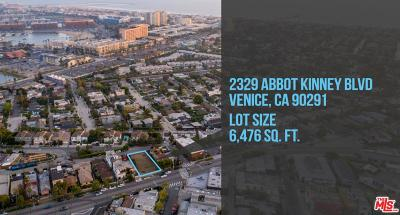Venice Residential Lots & Land Sold: 2329 Abbot Kinney