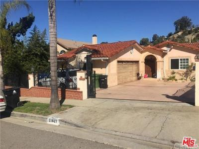 Woodland Hills Single Family Home For Sale: 21627 Mulholland Drive