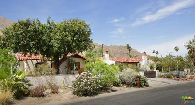 Palm Springs Single Family Home For Sale: 565 South Calle Encilia