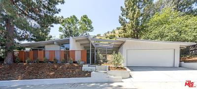 Single Family Home Sold: 2937 Nichols Canyon Road