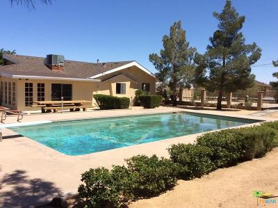 Yucca Valley Single Family Home For Sale: 58327 Anaconda Drive