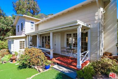 Malibu Single Family Home For Sale: 3006 Las Flores Canyon Road