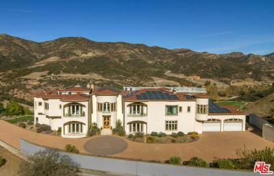 Agoura Hills, Calabasas, Westlake Village, Oak Park, Thousand Oaks Single Family Home For Sale: 31700 Lobo Canyon Road