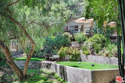 Topanga Single Family Home For Sale: 913 Fernwood Pacific Drive