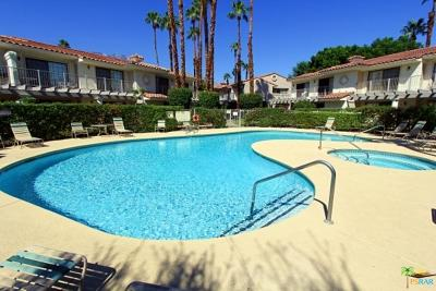 Palm Springs Condo/Townhouse For Sale: 2001 East Camino Parocela #Q118