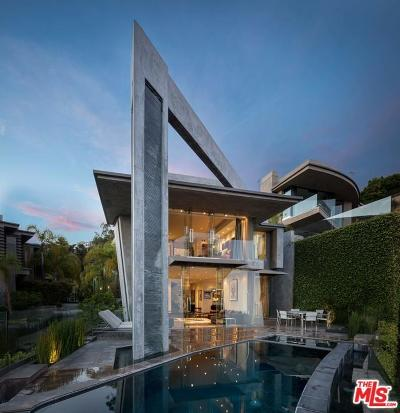 Sunset Strip - Hollywood Hills West (C03) Single Family Home For Sale: 1742 Viewmont Drive