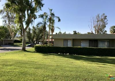 Palm Springs Condo/Townhouse For Sale: 2201 Oakcrest Drive