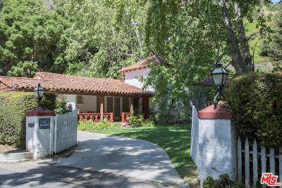 Single Family Home For Sale: 901 Stone Canyon Road