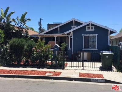Los Angeles Single Family Home For Sale: 250 East 43rd Place
