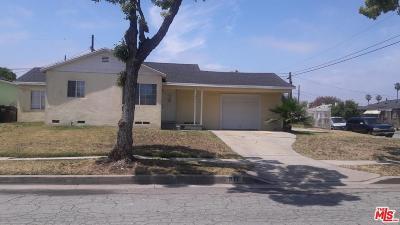 Compton Single Family Home For Sale: 911 North Cliveden Avenue