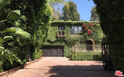 Los Angeles Single Family Home For Sale: 2710 Nichols Canyon Road