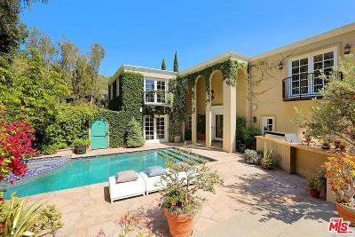 Sunset Strip - Hollywood Hills West (C03) Single Family Home For Sale: 2641 Nichols Canyon Road