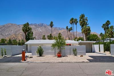 Palm Springs Single Family Home For Sale: 980 East Tachevah Drive