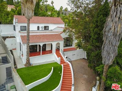 Los Angeles Single Family Home For Sale: 2037 Holly Hill Terrace