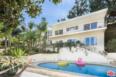 Sunset Strip - Hollywood Hills West (C03) Single Family Home For Sale: 7435 Palo Vista Drive