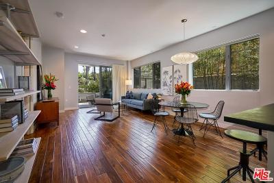 Hollywood Condo/Townhouse Sold: 6001 Carlton Way #101