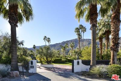 Palm Springs Rental For Rent: 1993 South Mesa Drive