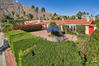 Palm Springs Single Family Home For Sale: 610 South Palo Verde Avenue