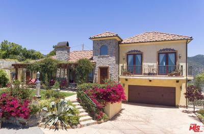 Malibu CA Single Family Home For Sale: $2,288,000