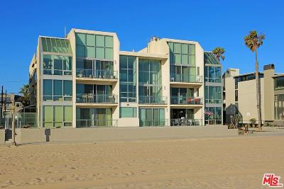 Marina Del Rey Condo/Townhouse For Sale: 5209 Ocean Front #101