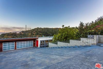 Sunset Strip - Hollywood Hills West (C03) Single Family Home For Sale: 7270 Mulholland Drive
