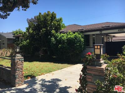 Culver City Single Family Home For Sale: 4163 Center Street