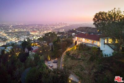 Sunset Strip - Hollywood Hills West (C03) Single Family Home For Sale: 8416 Grand View Drive