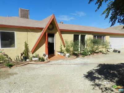 Morongo Valley Single Family Home For Sale: 9334 Craver Road