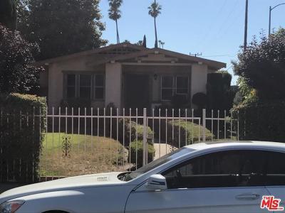 Los Angeles Southwest (C34) Single Family Home For Sale: 4401 South Wilton Place