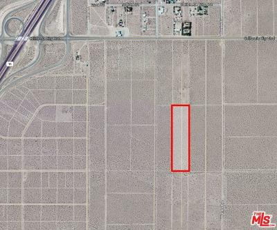 Mojave CA Residential Lots & Land For Sale: $20,000