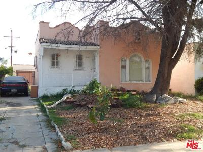 Los Angeles Single Family Home For Sale: 227 East 83rd Street