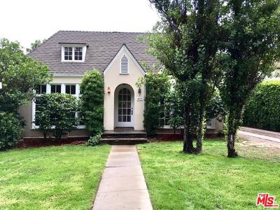 Single Family Home For Sale: 409 South Bundy Drive