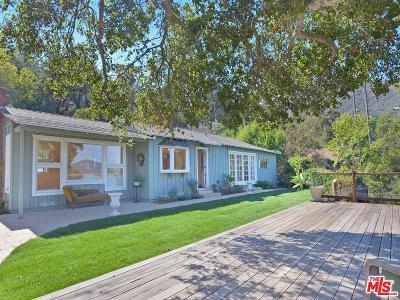 Topanga Single Family Home For Sale: 1205 Fernwood Pacific Drive