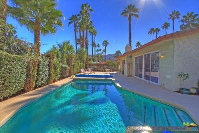 Palm Springs Single Family Home For Sale: 1228 South Compadre Road