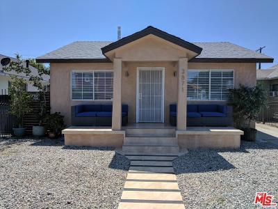Los Angeles Southwest (C34) Single Family Home For Sale: 3871 Cimarron Street