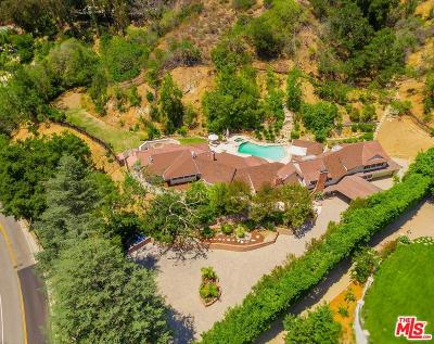 Beverly Hills Single Family Home For Sale: 2660 Benedict Canyon Drive