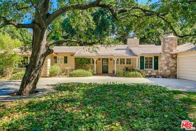 Arcadia Single Family Home For Sale: 111 Hacienda Drive