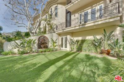 Beverly Hills Single Family Home For Sale: 1350 Benedict Canyon Drive