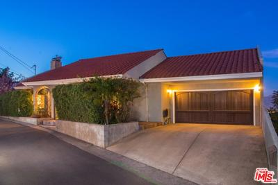 Sunset Strip - Hollywood Hills West (C03) Single Family Home For Sale: 7309 Caverna Drive