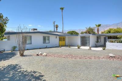 Palm Springs Single Family Home For Sale: 4361 East Paseo Caroleta